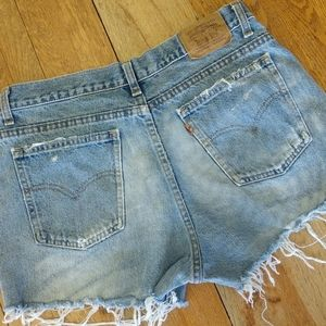 Vintage Levi Jean shorts size 30